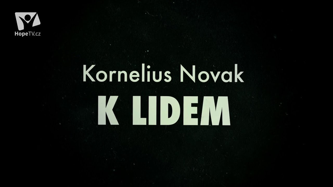 Interview s Korneliem Novakem (5/13) CZ